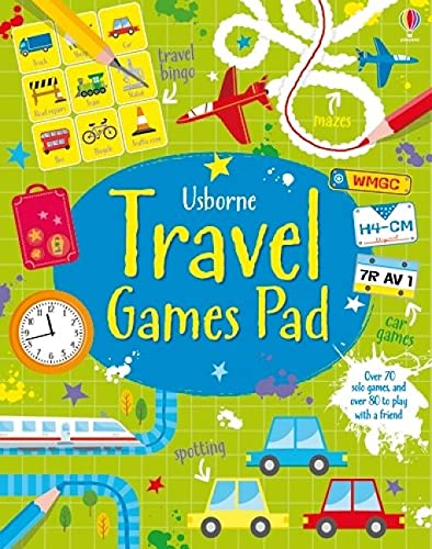 Compare Textbook Prices for Travel Games Pad  ISBN 9781409581390 by Robson, Kirsteen