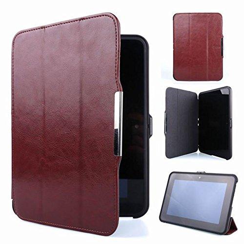 Meijunter Brown Titolare Pelle Protector Pouch Caso Copertina Coprire Case Cover per 7' Kindle Fire HD 7 2th 2012 Tablet