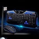 bingT Wireless Gaming Optoelektronisch Tastatur und Maus Set für PC