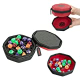 Protective Padded Dice Case & Integrated...