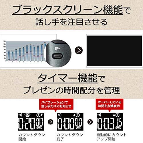 CanonグリーンレーザーポインターPR11-GCPowerPoint/Keynote/プレビュー/PDF対応