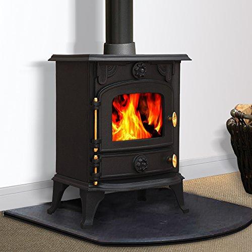 Lincsfire JA013 6.5KW Multifuel Woodburning Fireplace Cast Iron Woodburner