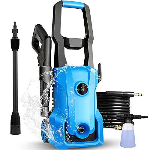 3000PSI Electric Pressure Washer, 2.4GPM 1600W Only $75.99