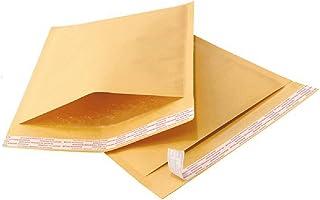 Yens 500 pcs 4x8#000 Economic Grade Kraft Bubble Padded Envelopes Mailers 500KF#000