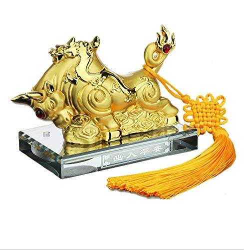 youjiu Decoration Décorations Deco Decoratif Décoration De Voiture Alliage Décoration De Voiture De Parfum De Vache Au Dragon