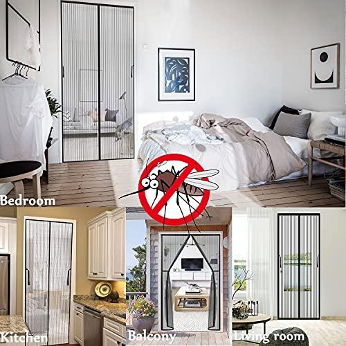 ZOYIDOUX Contrapuertas con mosquitera
