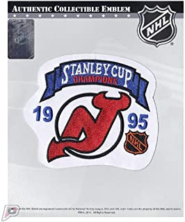 1995 New Jersey Devils NHL Stanley Cup Final Champions Patch