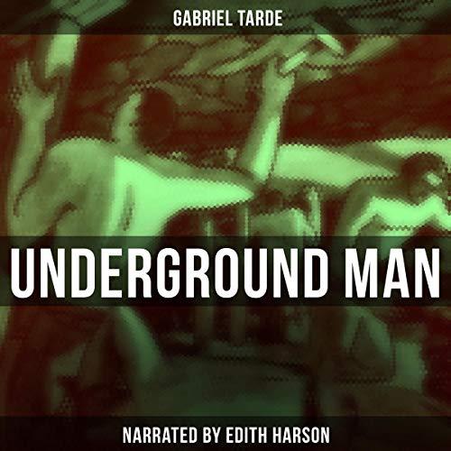 Underground Man audiobook cover art