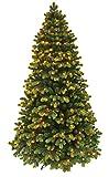 Christmas Tree/Pre-lit Christmas Tree/Round Tip Winter Spruce Artificial Christmas Tree/Prelit Christmas Tree