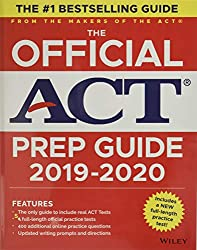 The Official ACT Prep Guide (2019-2020 Edition) - Best ACT Prep Books