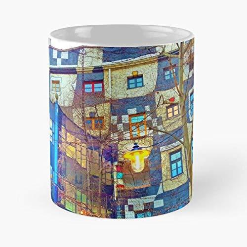 Vienna Museum Museu Viena Europa Europa Austria Wien Best Taza de café de cerámica de 325 ml
