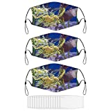 No-125847 Leafy Sea Dragons Gaiters Face Mask for Men Women