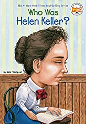 Image: Who Was Helen Keller? | Paperback: 112 pages | by Gare Thompson (Author), Who HQ (Author), Nancy Harrison (Illustrator). Publisher: Penguin Workshop; 37912th edition (August 25, 2003)