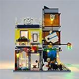 Kit de iluminacin LED para Lego Pet Shop Cafe Y Bloque, Dispositivo de iluminacin Compatible con 31097 Bloque de construccin Model (Modelo de Lego no est Incluido)