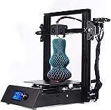 RSBCSHI Impresora 3D, Metal Grande Impresora 3D Autoinstitución de 0.4mm Boquilla Función de impresión Función Táctil Pantalla de filamento Detección de impresión Tamaño 220 * 220 * 250mm