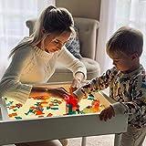 Light and Sensory Sand play table for children. Montessori Reggio Emilia compatible. Perfect for Homeschooling