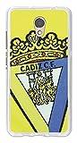 Funda Gel Flexible Cádiz C.F. para Lenovo P2 - Carcasa TPU Licencia Oficial Cádiz C.F. Escudo1