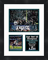 Alshon Jeffery Philadelphia Eagles 2018 Super Bowl LII (52) Champions Framed 11 x 14 Matted Collage Framed Photos Ready to Hang