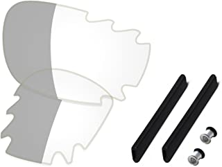 Saucer Premium Lenses & Rubber Kits for Oakley Jawbone Vented Racing Jacket