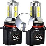 MCK Auto - Sostituzione per LED CanBus P13W Set di lampadine bianche molto chiare e senza errori compatibili con A4 B8