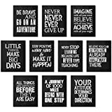 10 Stücke Inspirierende Wand Poster Motivierende Zitat