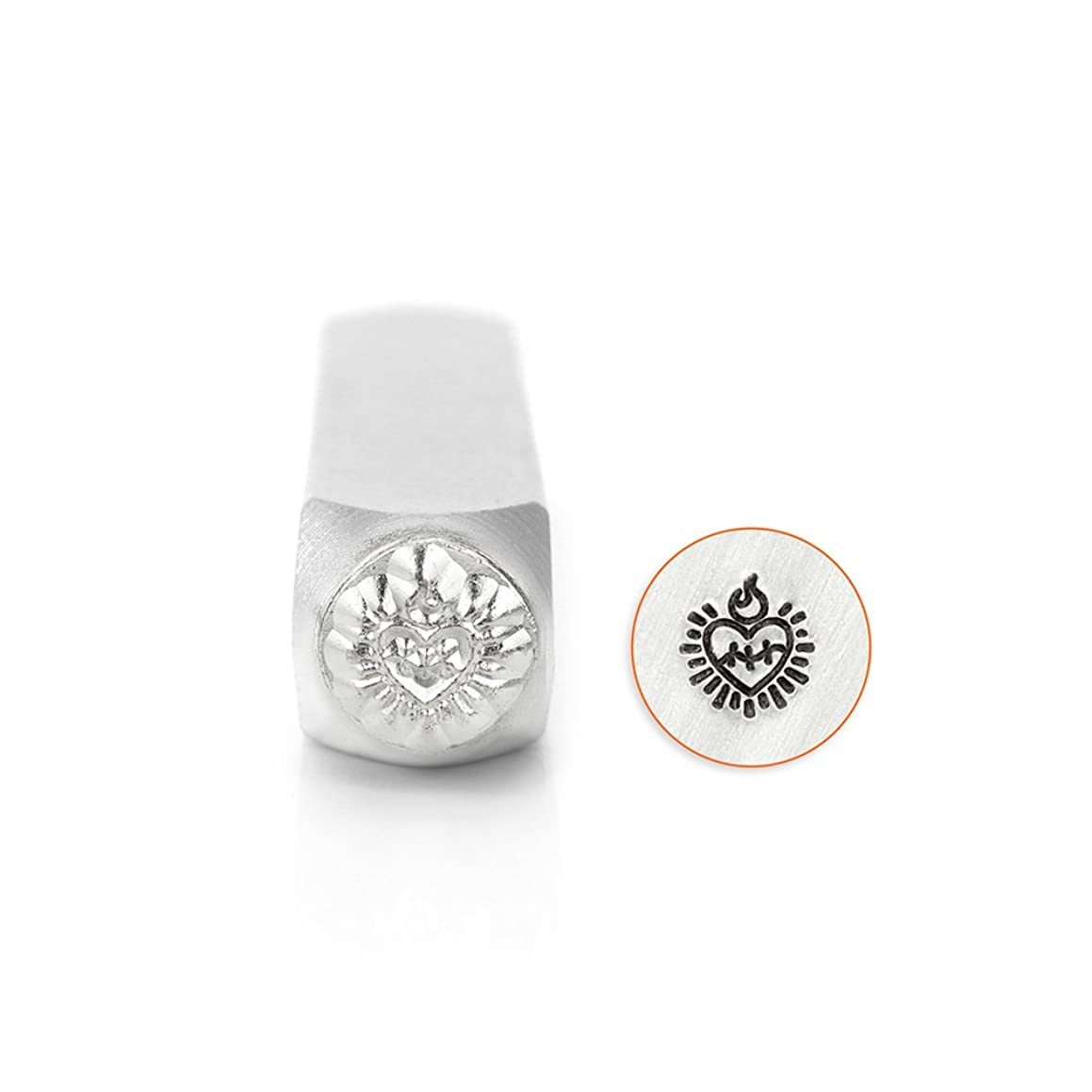 ImpressArt Sacred Heart Design Stamp, 6mm
