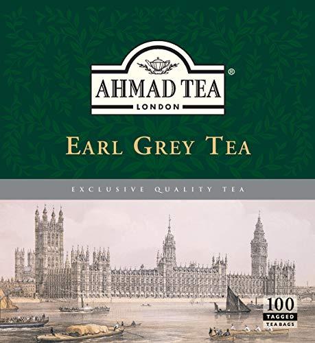 Ahmad Tea 100 Pack , earl grey, 1200 Count, (Pack of 12)