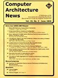 Computer Architecture News - Sigarch