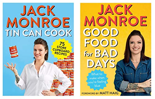 Jack Monroe 2 Book Set - Tin Can Cook and Good Food for Bad Days