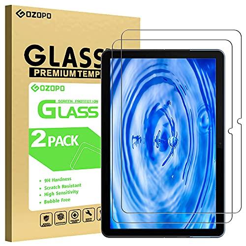GOZOPO - Pellicola proteggi schermo per Lenovo Chromebook Duet da 10,1 , resistente ai graffi, bordo 2,5D, in vetro temperato, confezione da 2