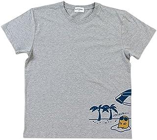 ぐでたま 大人Tシャツ(バカンス)グレーS