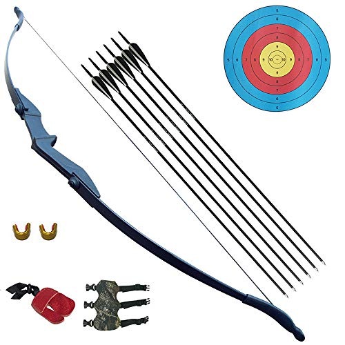 D&Q Recurve Bow and Arrow Archery Set for Adult Junior...