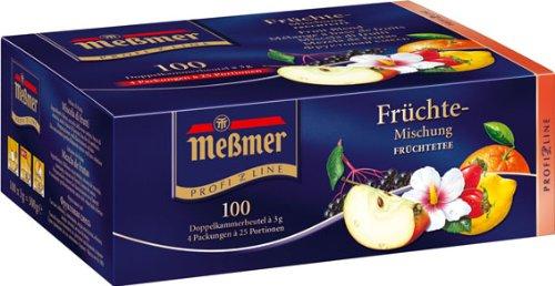 Meßmer ProfiLine Früchte 100 x 3 g, 1er Pack (1 x 300 g)