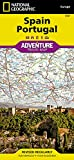 Spain and Portugal (National Geographic Adventure Map, 3307)