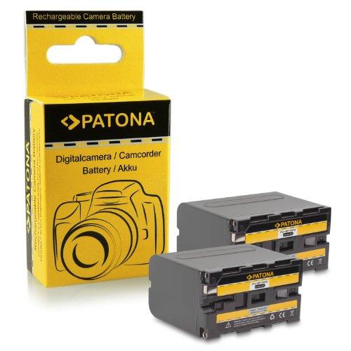 2x Batería NP-F970 NPF970 para Sony Camcorder Sony CCD-TR Series | CCD-TRV Series | Sony DCR-TR Series | Sony DCS-CD | Sony MVC-FD Series y mucho más…