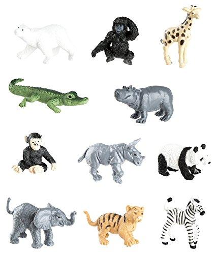 Safari Ltd 680004 Tubo Zoo Babies