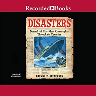 Disasters audiobook cover art