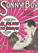 Sheet Music Al Jolson Sonny Boy 113