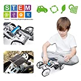 Lucky Doug STEM Science Toys Kit, DIY 4WD Climbing Vehicle Solar Electric Assembly Engineering Toys Kit, Science Experiments Projects Gift for Kids and Teens