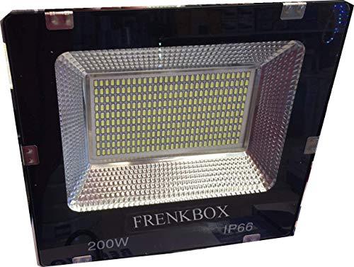 Faro led SMD 6000k 12mila lumen 200watt da esterno IP67 220volt