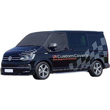 UK Custom Covers SW516BLACK Front Windscreen Wrap Cover BLACK