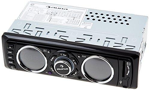 Auna MD-180 digitales Autoradio (4x 75W Leistung, UKW, RDS, SD-Kartenslot, AUX-Eingang, USB) abnehmbares Bedienteil
