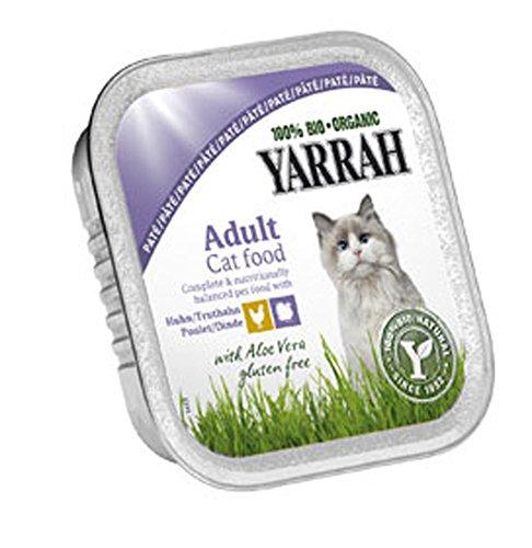 Yarrah 16er-VE Wellness-Paté Huhn Truthahn Aloe Vera 100g