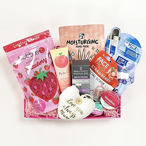 Cesto de Mum's Pamper, regalo de cumpleaños de mamá, regalo para mamá, cesta de mimo para ella