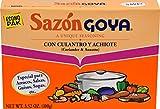 Goya Foods Sazón Seasoning With Coriander & Annatto, 3.52 Oz Box