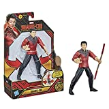 Marvel Hasbro Shang-Chi and The Legend of The Ten Rings Shang-Chi 6-inch Action Figure Toy with Bo Staff Attack Feature! for Kids Ages 4 and Up