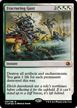 Magic The Gathering - Fracturing Gust (007/015) - from The Vault: Annihilation - Foil