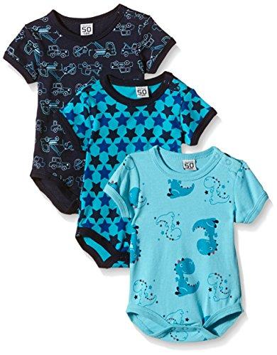 Care Body Bebé-Niños pack de 3 o pack de 6 Azul (Dark Navy 778) 24 meses (Talla del fabricante: 92)