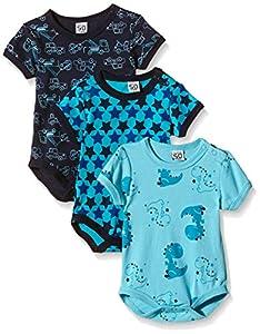 Care Body Bebé-Niños pack de 3 o pack de 6 Azul (Dark Navy 778) 6 meses (Talla del fabricante: 68)