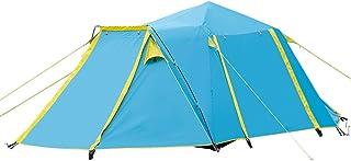 IDWOI-tält helt automatiskt pop up tält dubbelt lager vattentät familjetält för utvändig camping strand, 2 färger